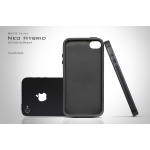 SGP Case Neo Hybrid Matte Series Smooth Black for iPhone 4, 4S (SGP07015)